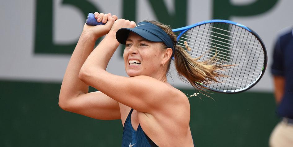 Мария Шарапова выиграла первый матч на «Ролан Гаррос»