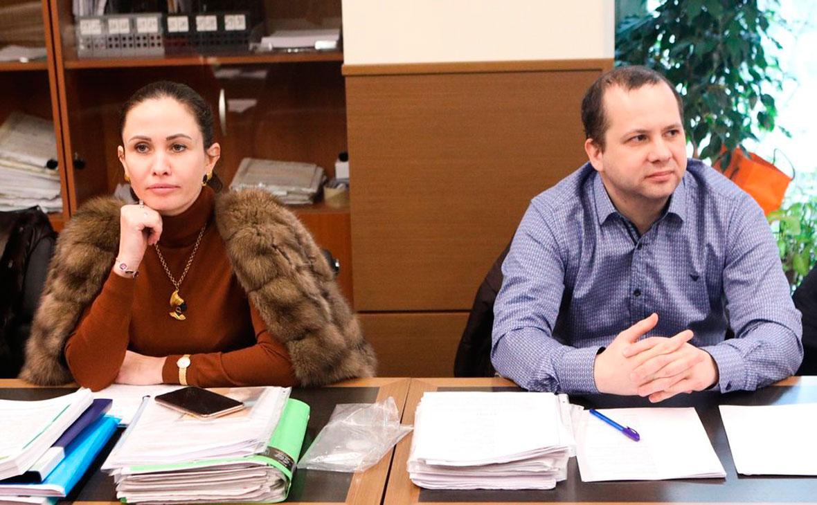 Адвокат матери ребенка Ольга Лукманова и адвокат отца ребенка Олег Сидорин