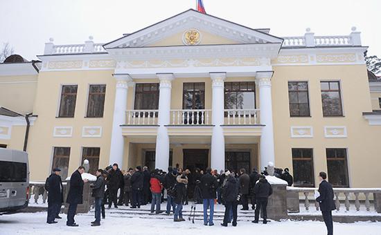 Резиденция президента вНово-Огарево