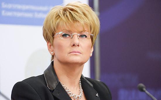 Бывший генеральный директор авиакомпании «Трансаэро» Ольга Плешакова
