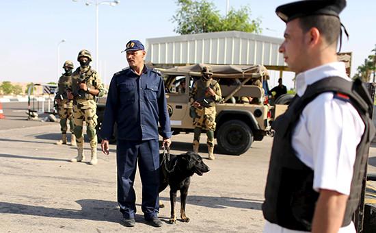 Полицейские патрули вШарм-эль-Шейхе