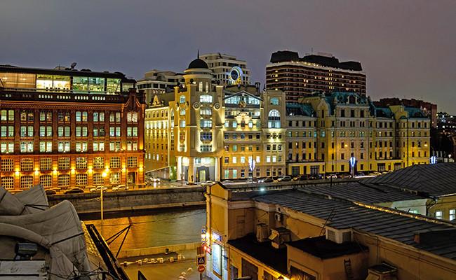 Вид наофисные здания комплекса «Голутвинская слобода»