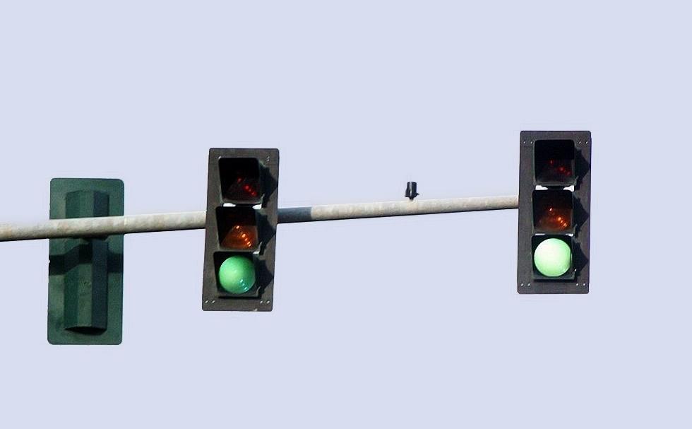 Светофоры, сделанные компанией 3М