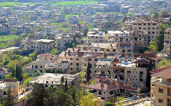 Дамаск, Сирия. Апрель 2017 года
