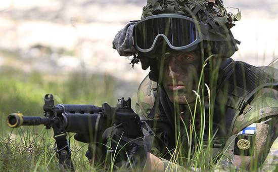 Военнослужащий финской армии