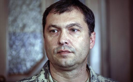 Первый глава ЛНР Валерий Болотов