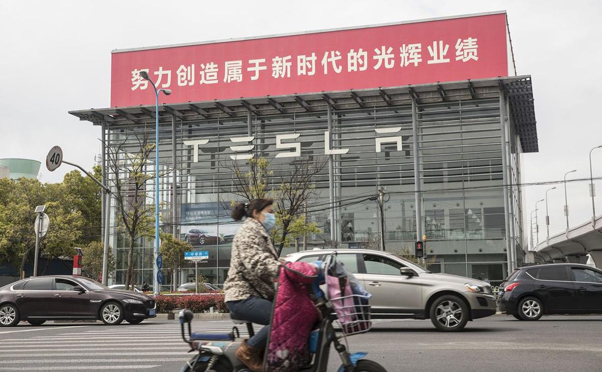 Завод Tesla в Шанхае