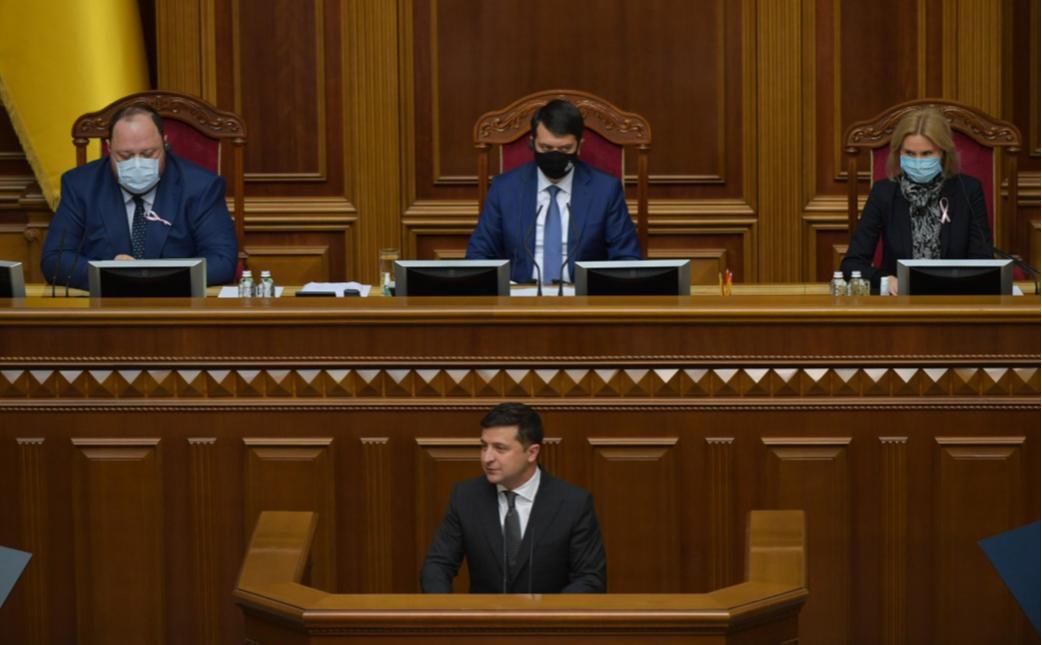 Зеленский допустил роспуск Рады в случае «политического коллапса»