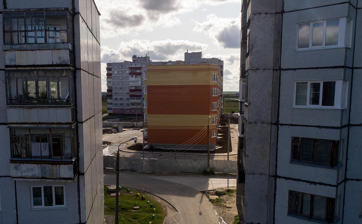 Вид на Северодвинск