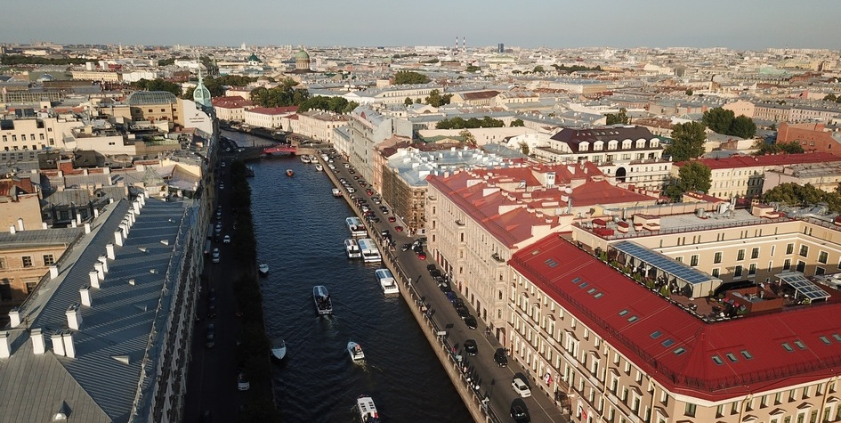 Риелторы назвали стоимость жилья на главной ресторанной улице Петербурга