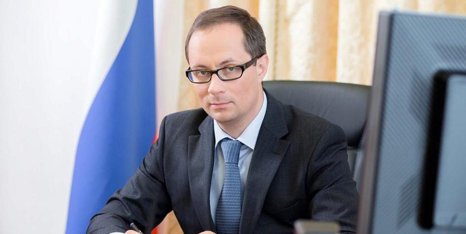 Министр спорта Московской области Роман Терюшков