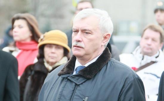 Георгий Полтавченко, губернатор Петербурга