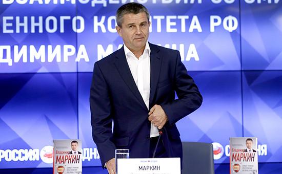 Официальный представитель СКР РФ Владимир Маркин