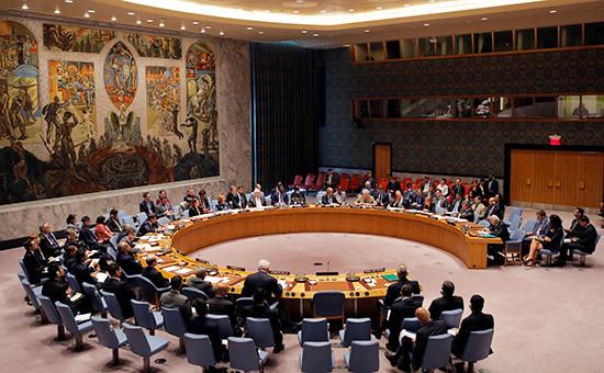 Заседание Совета Безопасности ООН