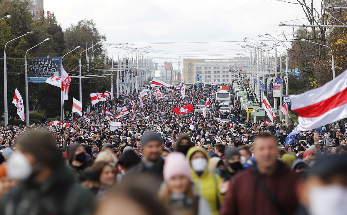 МИД заявил о наличии данных об управлении протестами в Минске с Украины