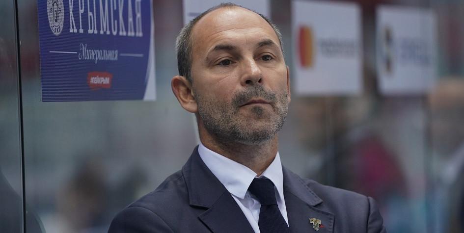 ХК «Сочи» объявил об отставке Сергея Зубова с поста главного тренера