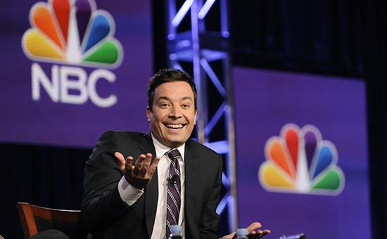 Ведущий The Tonight Show наNBC Джимми Фэллон