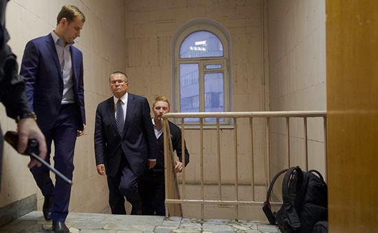 Алексей Улюкаев вздании Басманного суда