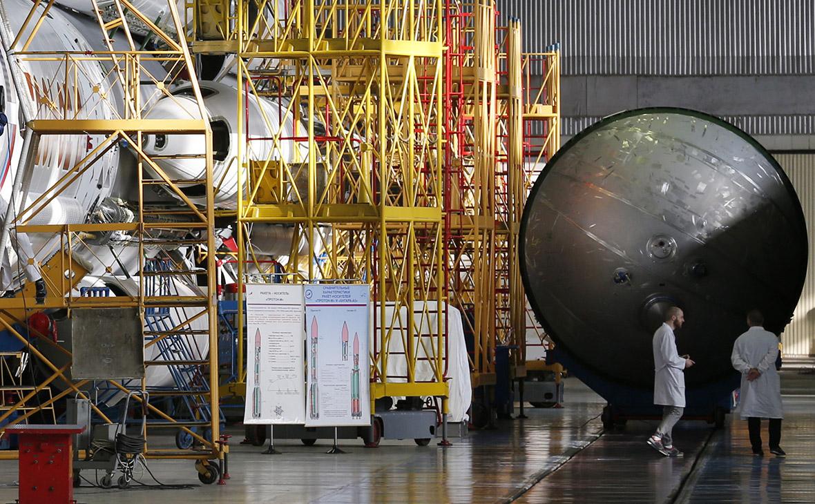 Цех сборки ракет-носителей «Протон» Центра им. М.В. Хруничева