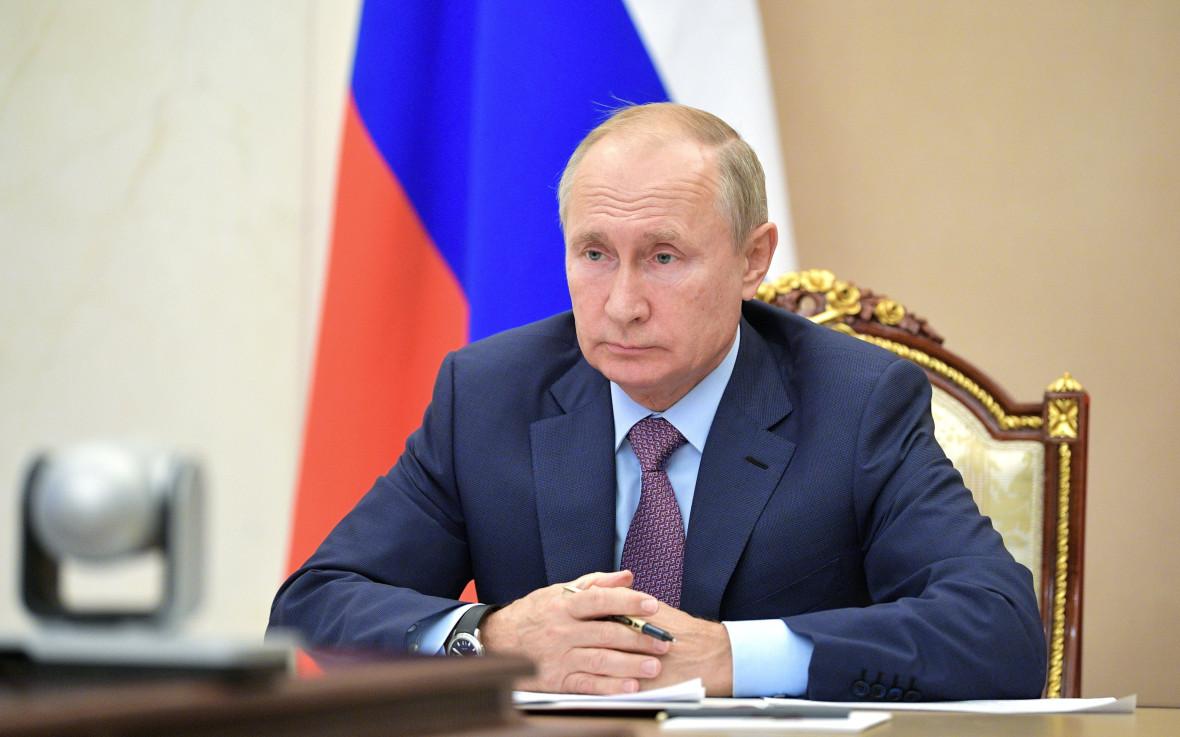 Фото:Алексей Дружинин/пресс-служба президента РФ/ТАСС