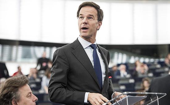 Голландский премьер Марк Рютте