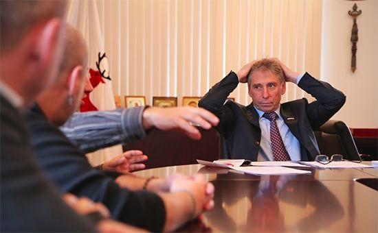Глава Нижнего Новгорода Иван Каринилин на встрече с активистами