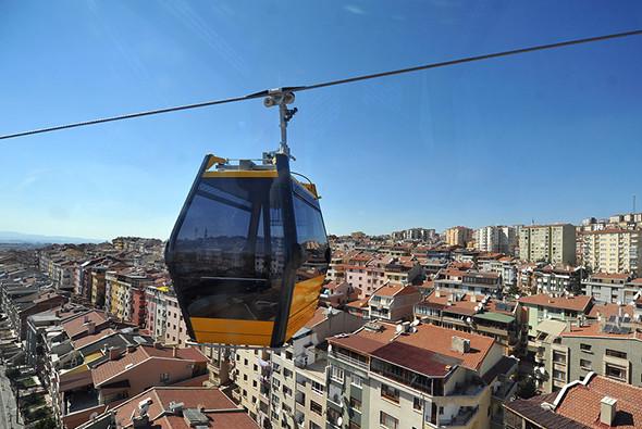 Канатная дорога в Анкаре