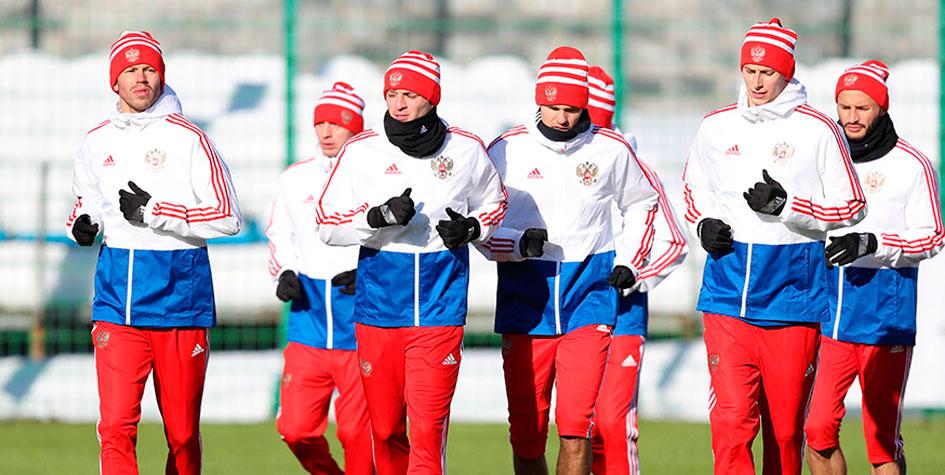 Два футболиста сборной России получили травмы перед матчем с французами