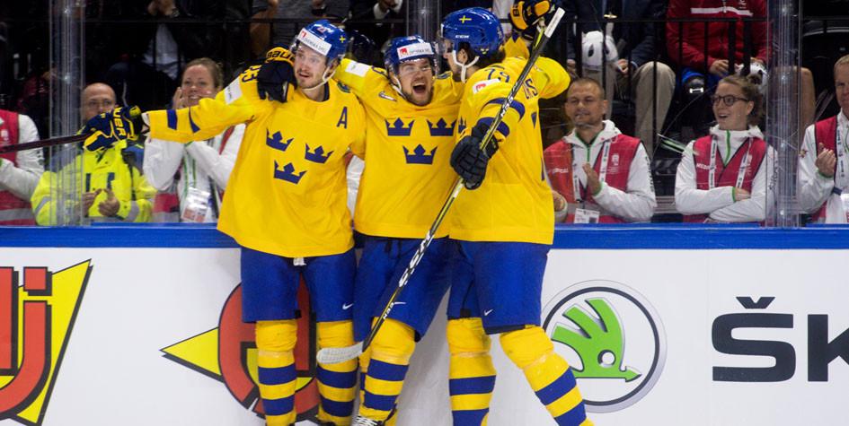 На чемпионате мира по хоккею определились все полуфиналисты