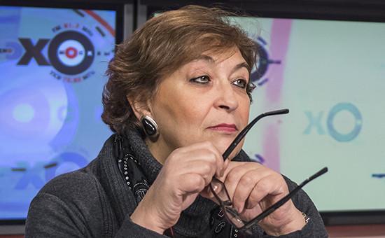 Главный редактор издания журнала The New Times Евгения Альбац