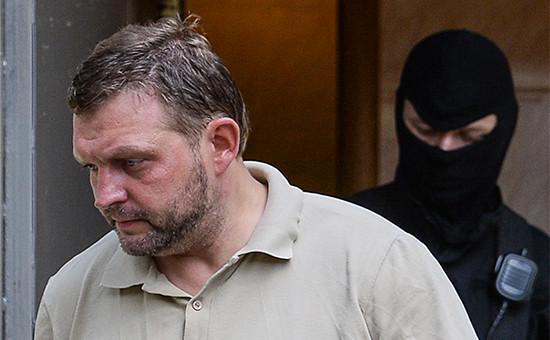 Губернатор Кировской области Никита Белых вБасманном суде Москвы