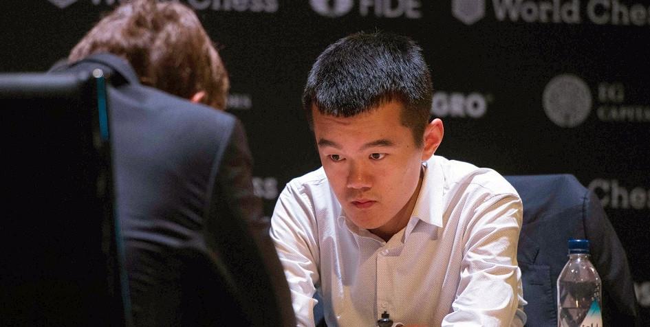 Китайский гроссмейстер Дин Лижэнь