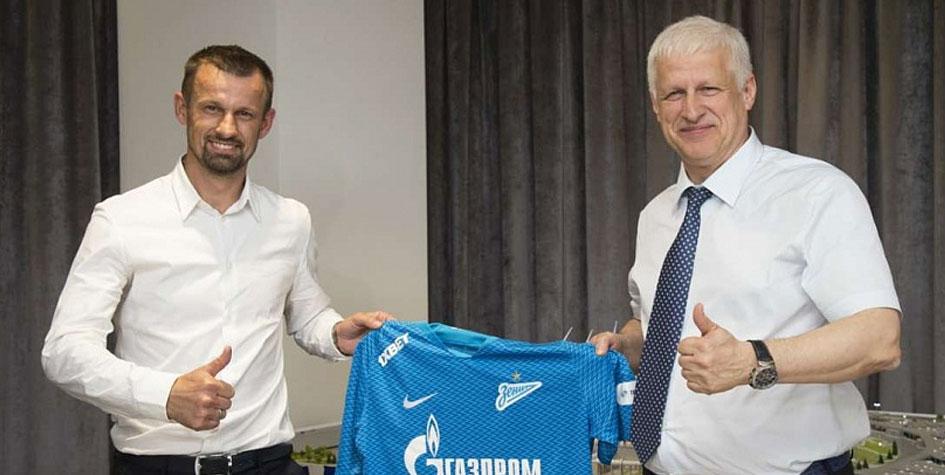 «Зенит» объявил о назначении Семака на пост тренера