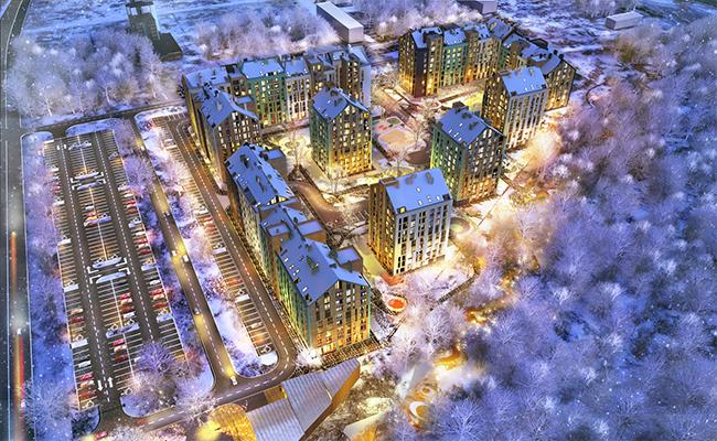 Проектный план ЖК «Леополь Таун»