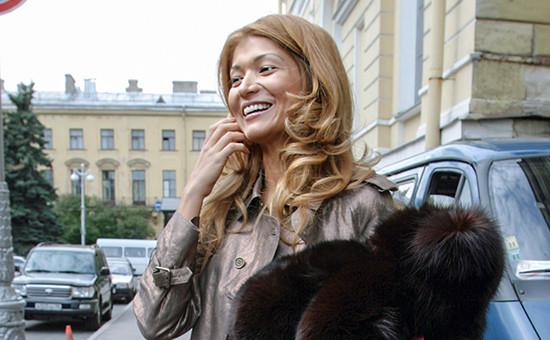 Дочь президента Узбекистана Гульнара Каримова, 1 июня 2006 года
