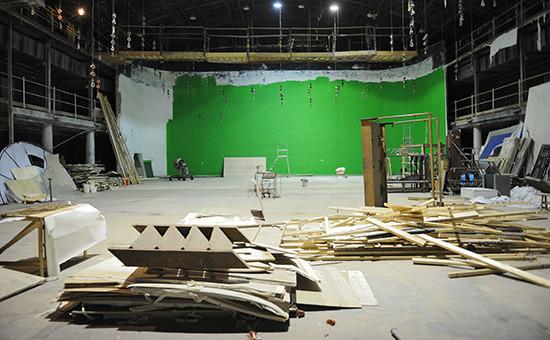 Съемочный павильон в киностудии «Ленфильм»
