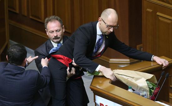 Потасовкав Верховной раде Украины
