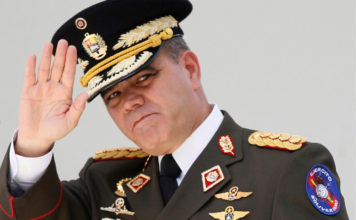 Министр обороны Венесуэлы Владимир Падрино Лопес