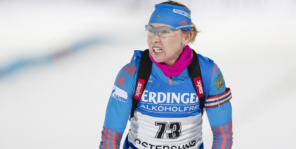 Пропустившая два допинг-теста биатлонистка стала пятой на ...