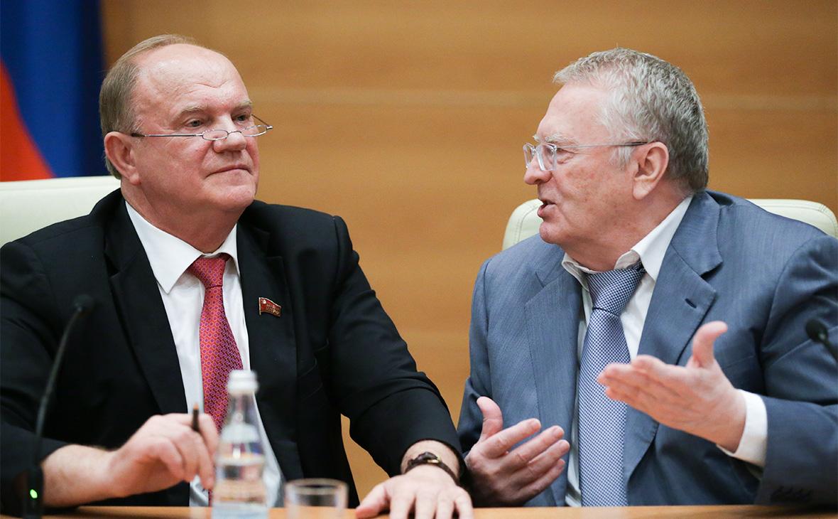 Лидеры системной оппозиции просят президента о встречах