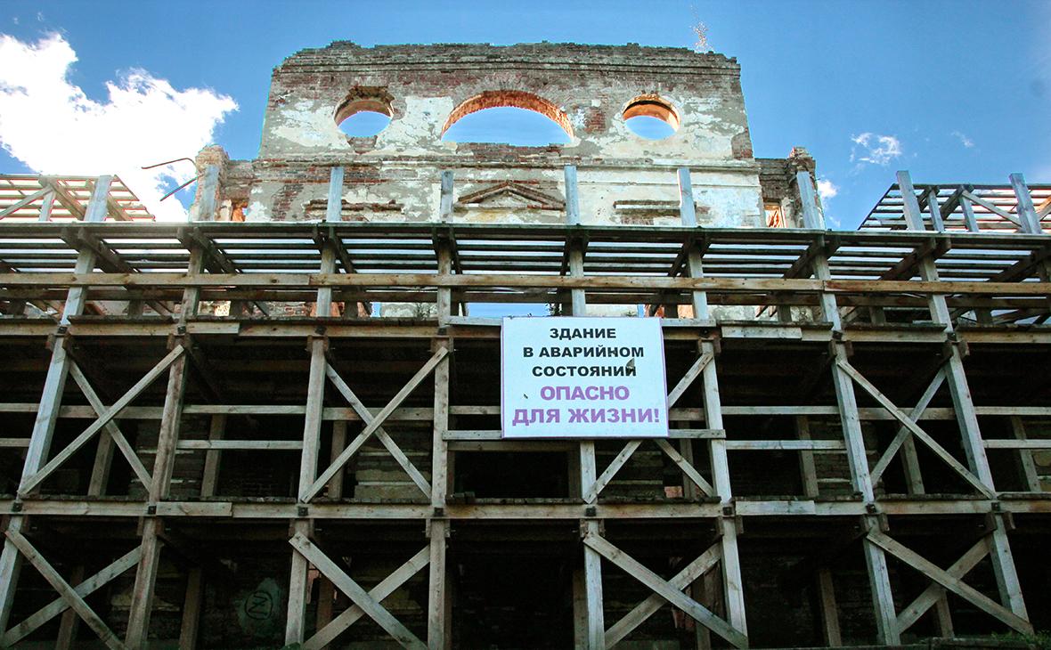 Бывшая царская загородная резиденция в Ропше