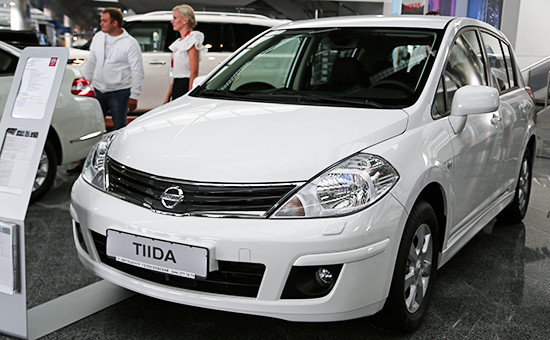 Хетчбэк С-класса Nissan Tiida