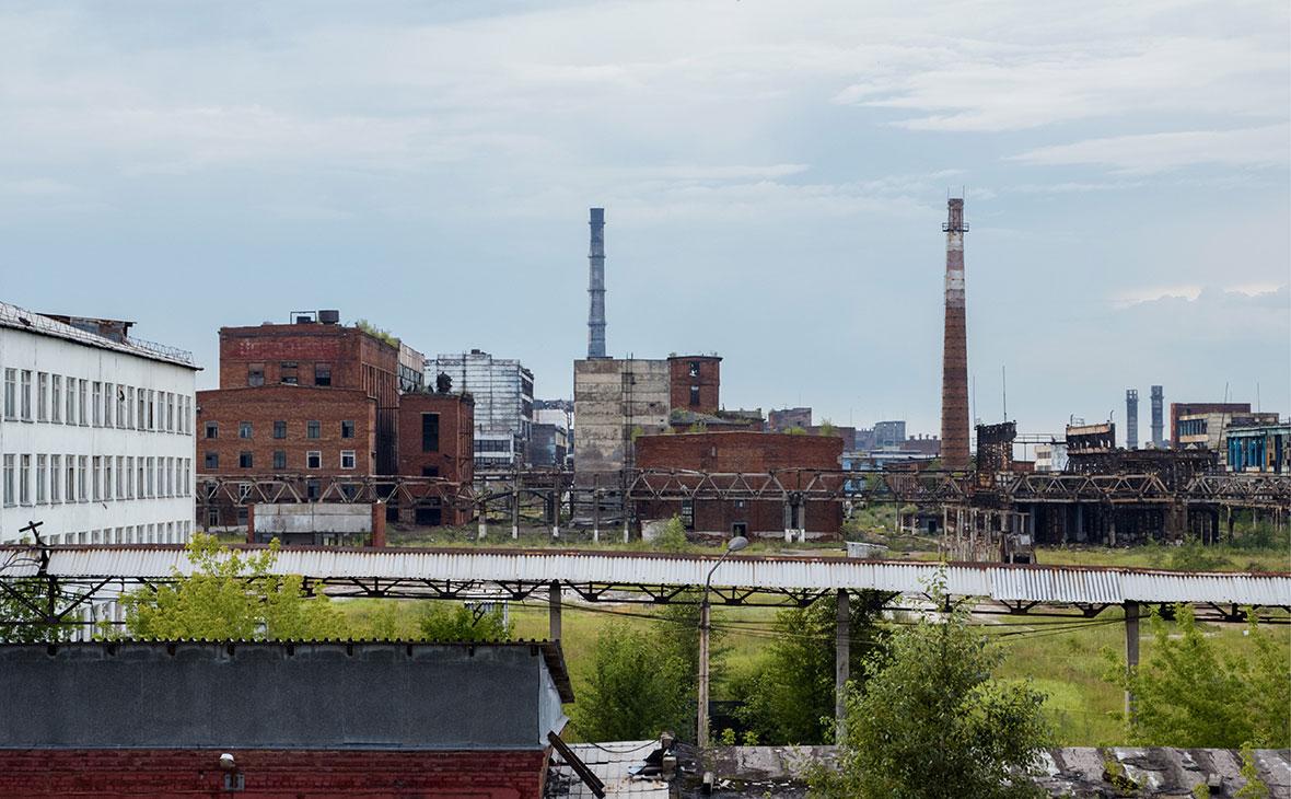 Завод «Усольехимпром» в Иркутской области