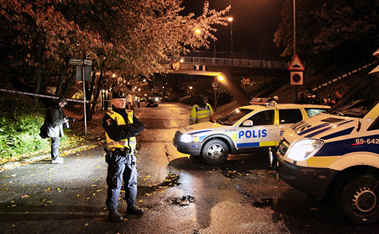 Полицейские в шведском городе Мальмё, 2010 год