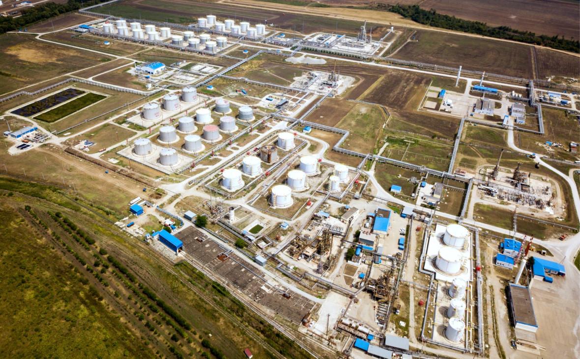Ильский нефтеперерабатывающий завод проекта «Юг» компании «Транснефть»