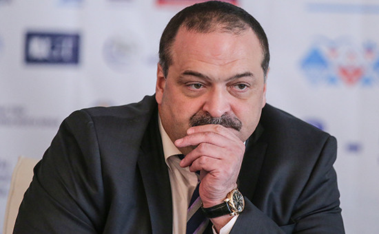 Полпред президента на Кавказе Сергей Меликов
