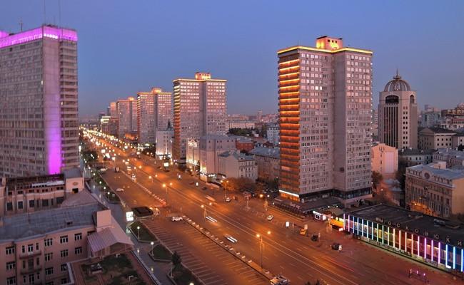 Улица Новый Арбат вМоскве