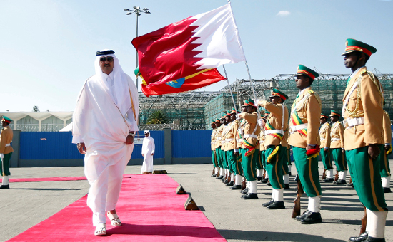 Катарский эмир Шейх Тамим бин Хамад Аль Тани