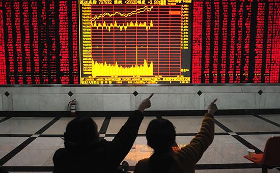 Фондовая биржа в Китае. Архивное фото