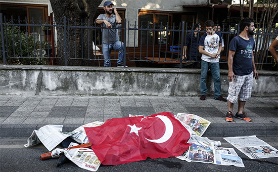 61e87a0b9262 Генштаб Турции назвал зачинщиков госпереворота    Политика    РБК